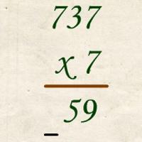 Grundrechenarten Mathematikspiel